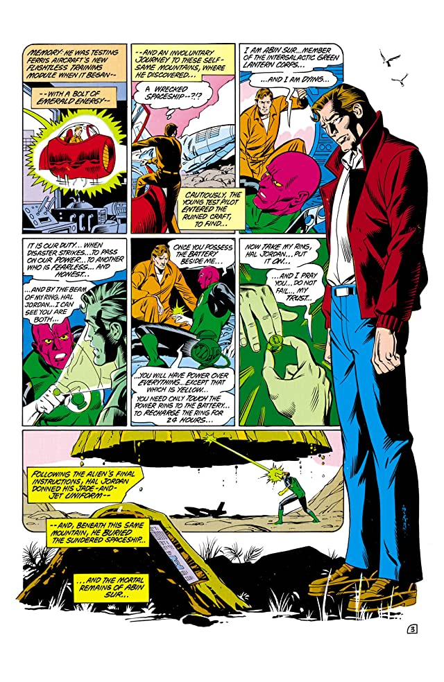 click for super-sized previews of Green Lantern (1976-1986) #182