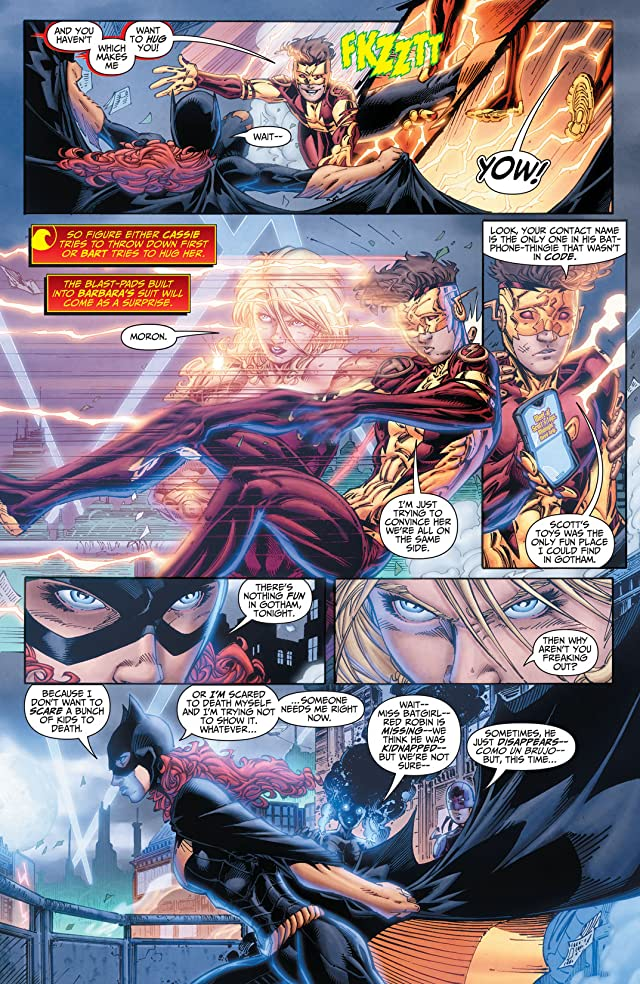 click for super-sized previews of Teen Titans (2011-2014) #15