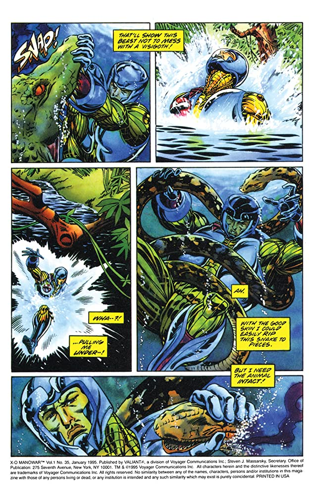click for super-sized previews of X-O Manowar (1992-1996) #35