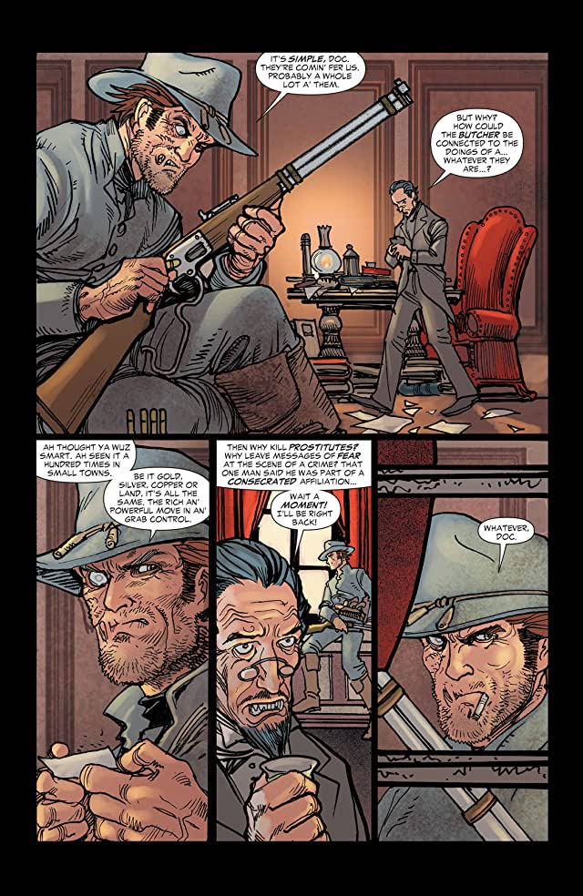 click for super-sized previews of All Star Western (2011-2014) #2