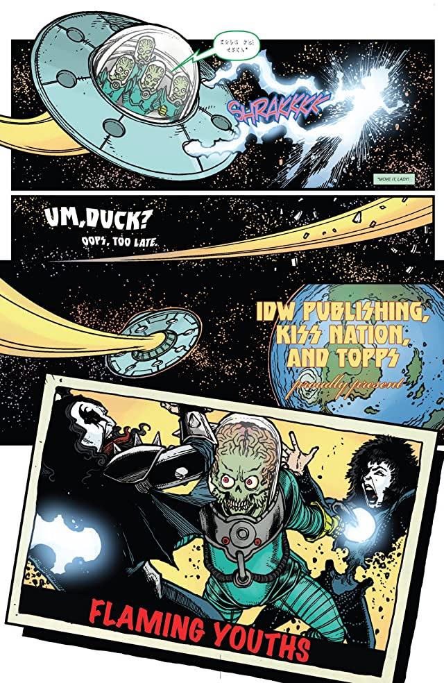 Mars Attacks Kiss #1