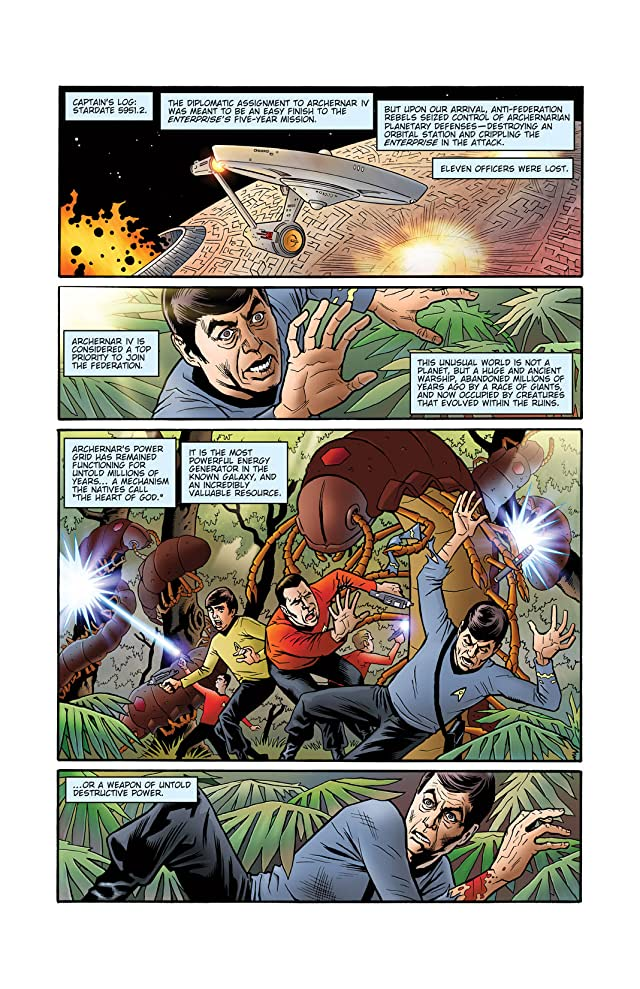 click for super-sized previews of Star Trek: Mission's End #3