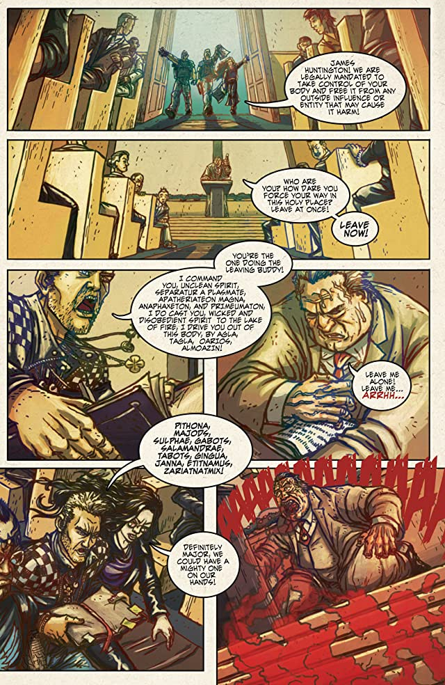 click for super-sized previews of Repossessed #1