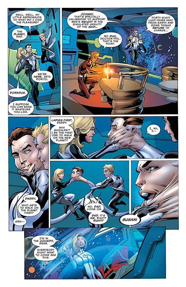 click for super-sized previews of Fantastic Four (2012-2014) #3
