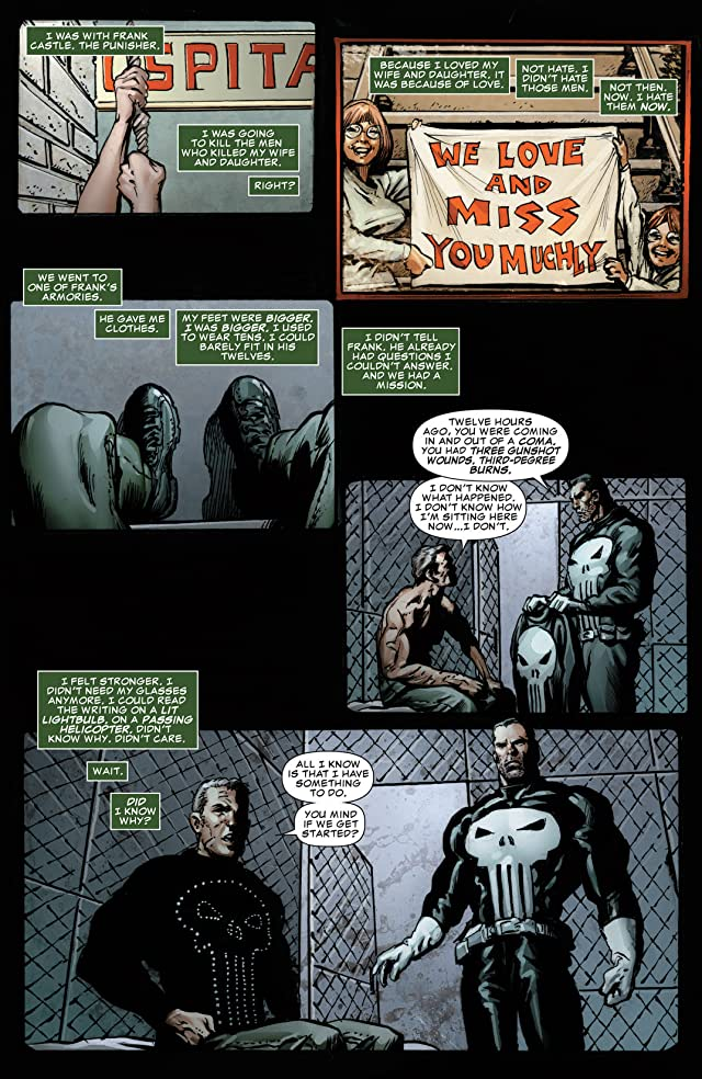 click for super-sized previews of Punisher: Nightmare #2