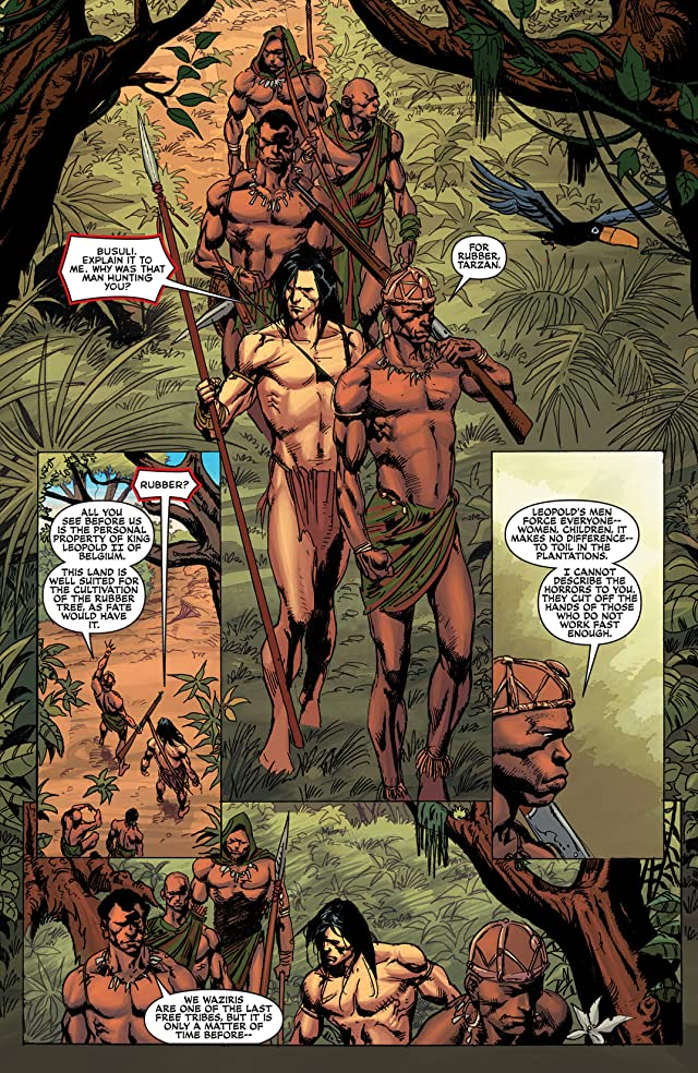 click for super-sized previews of Lord of the Jungle #11