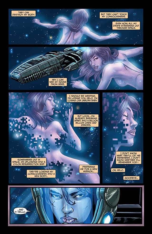 click for super-sized previews of Battlestar Galactica #5