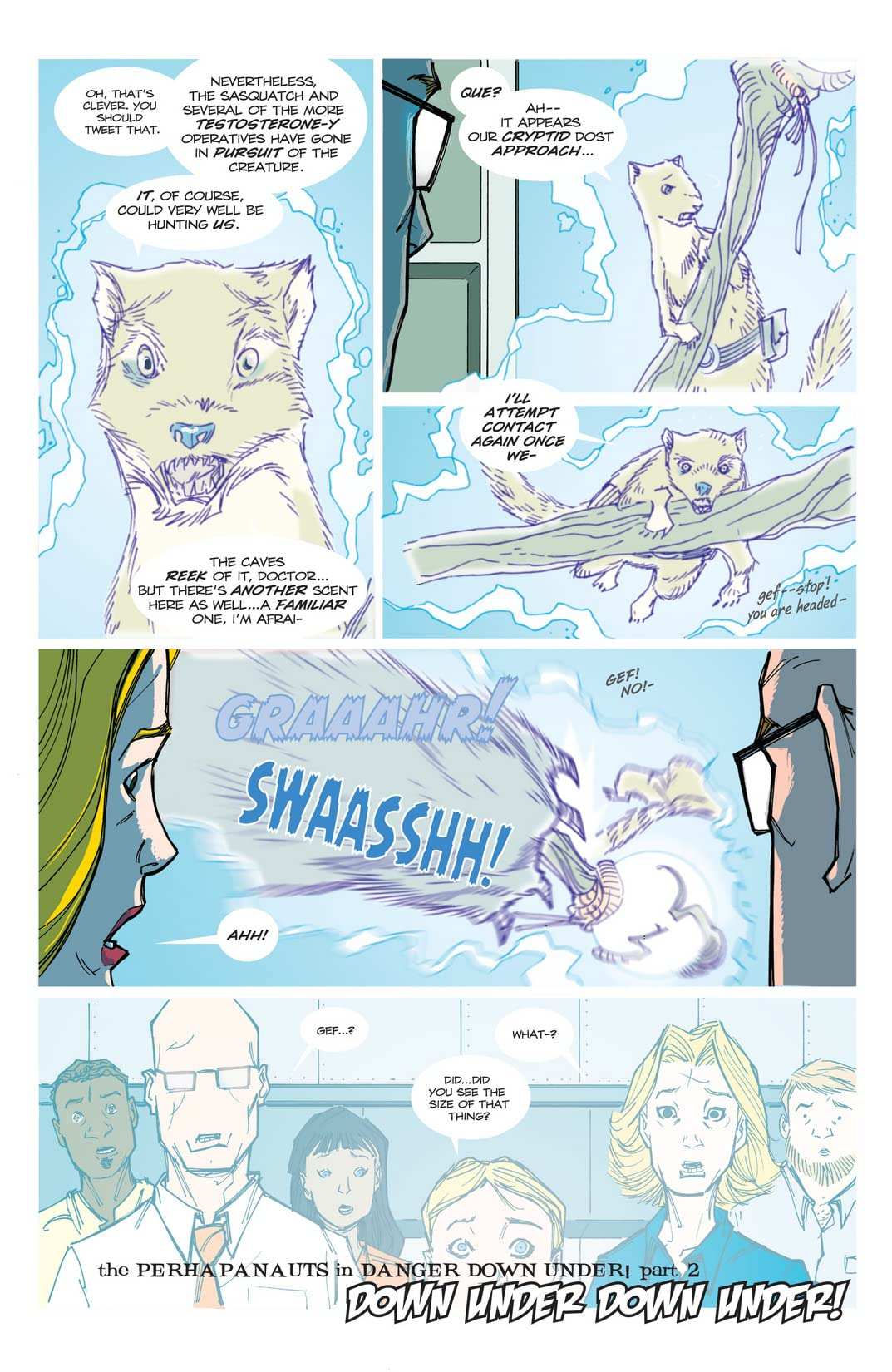 Perhapanauts: Danger Down Under #3 (of 5)