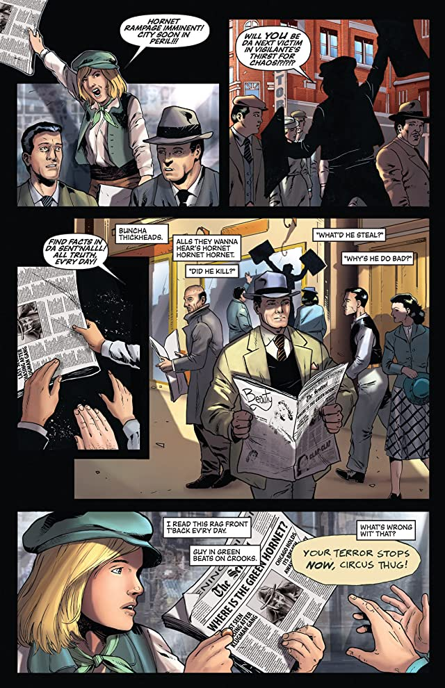 click for super-sized previews of Green Hornet: Year One Special #1