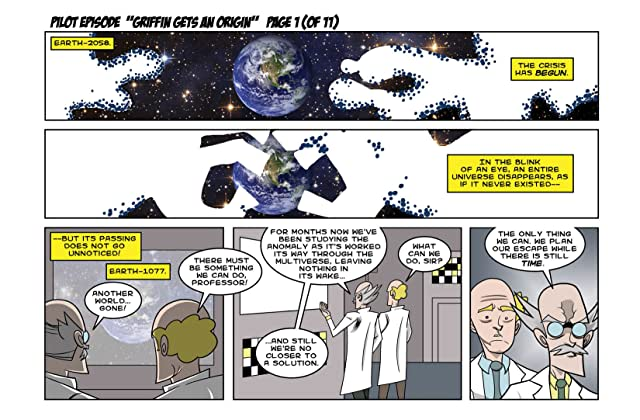 click for super-sized previews of Space-Time Condominium Vol. 1: Season One