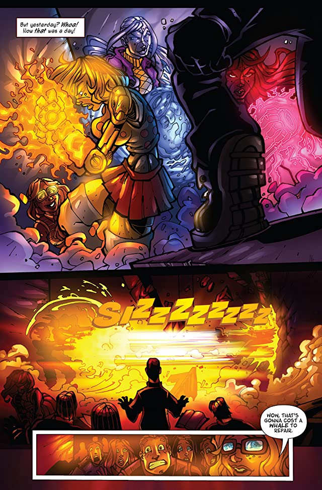 click for super-sized previews of Gearz #1