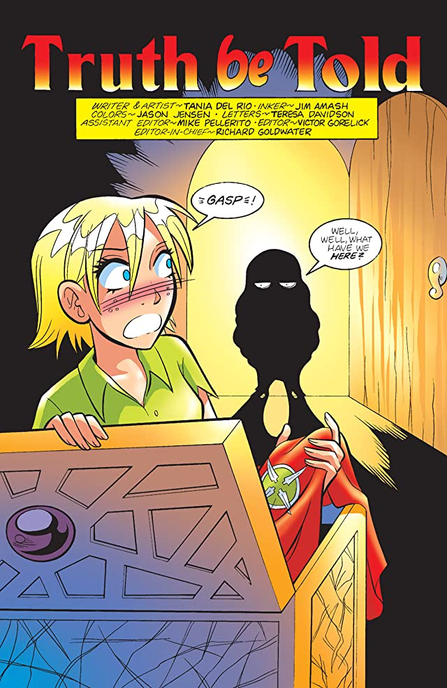 click for super-sized previews of Sabrina Manga #28