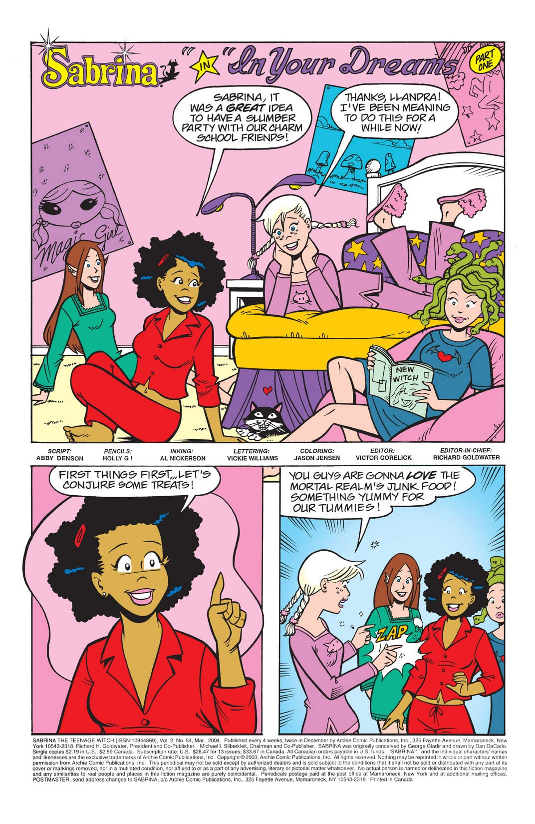 Sabrina the Teenage Witch #54