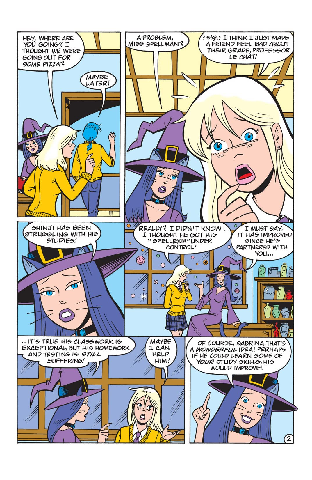 Sabrina the Teenage Witch #55