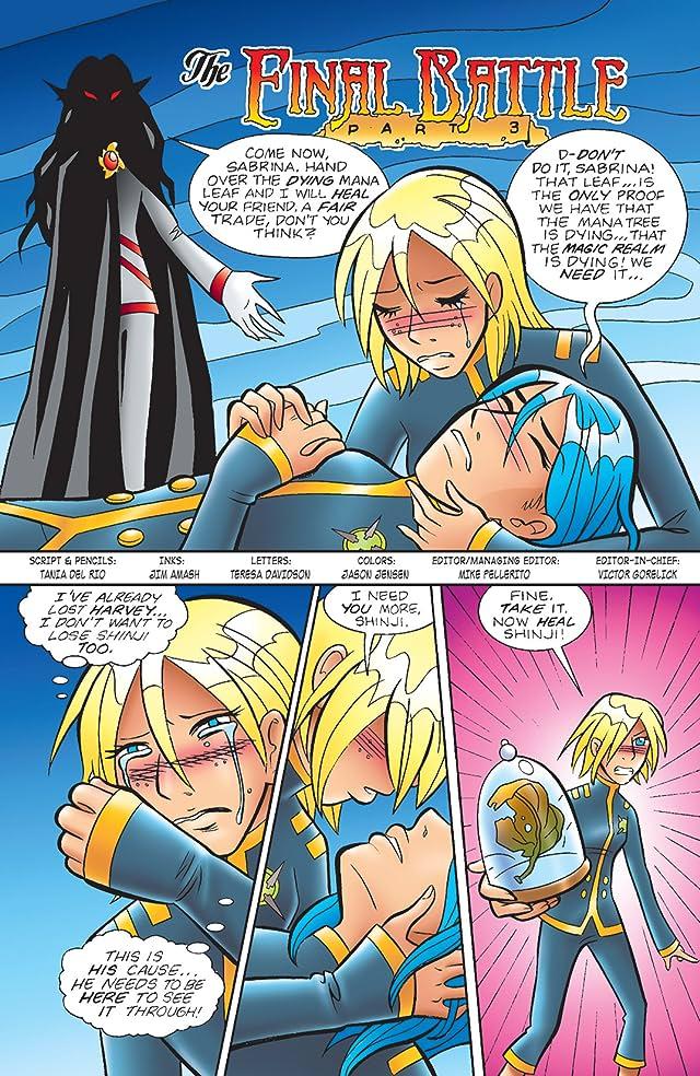 click for super-sized previews of Sabrina Manga #43