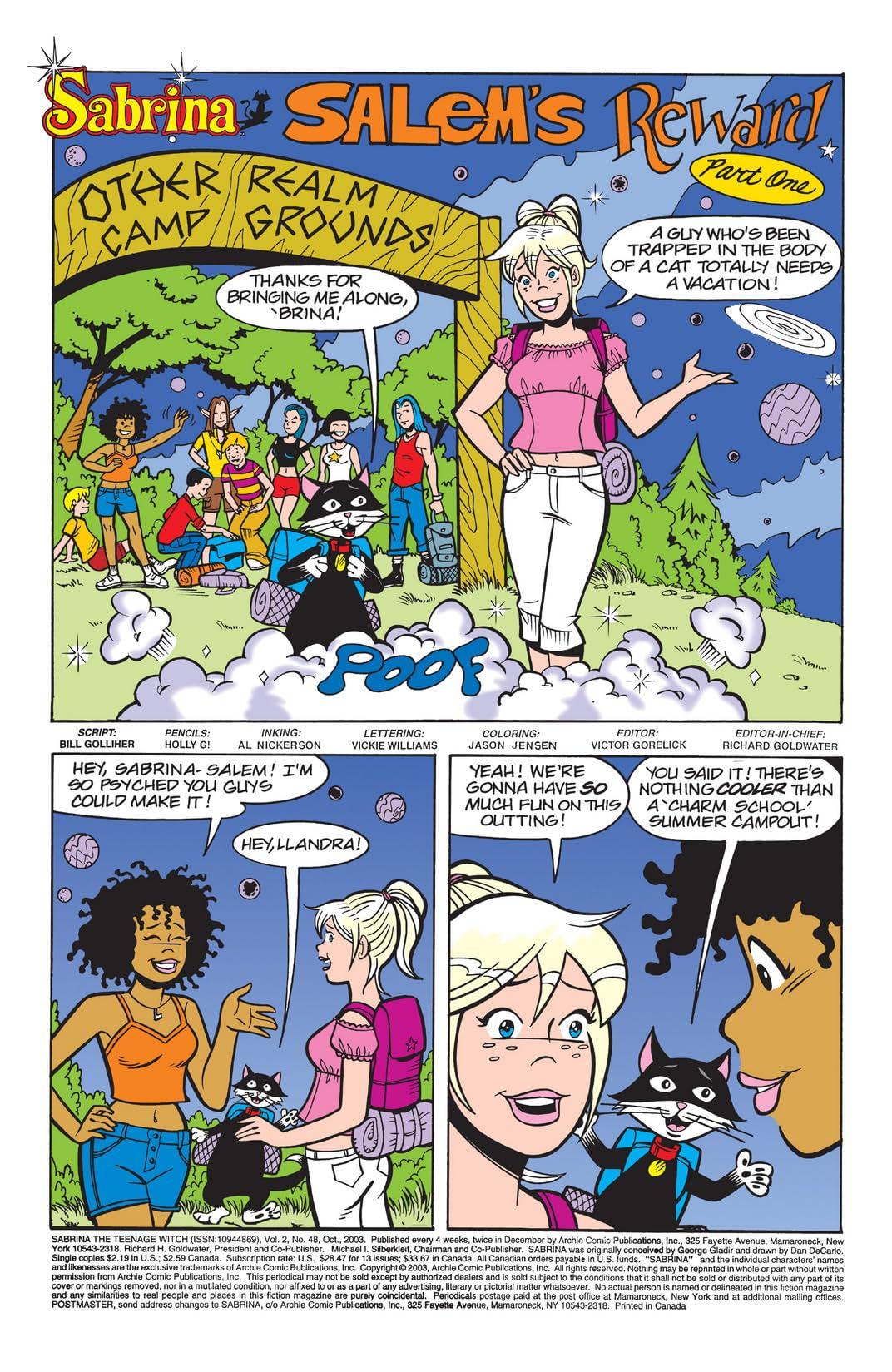 Sabrina the Teenage Witch #48