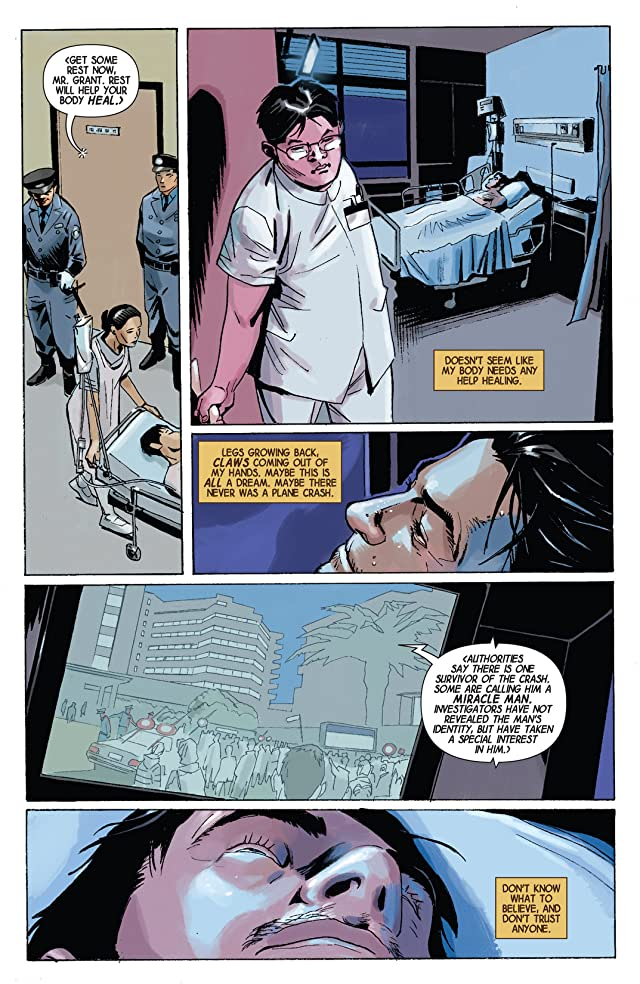 click for super-sized previews of Wolverine Max #1