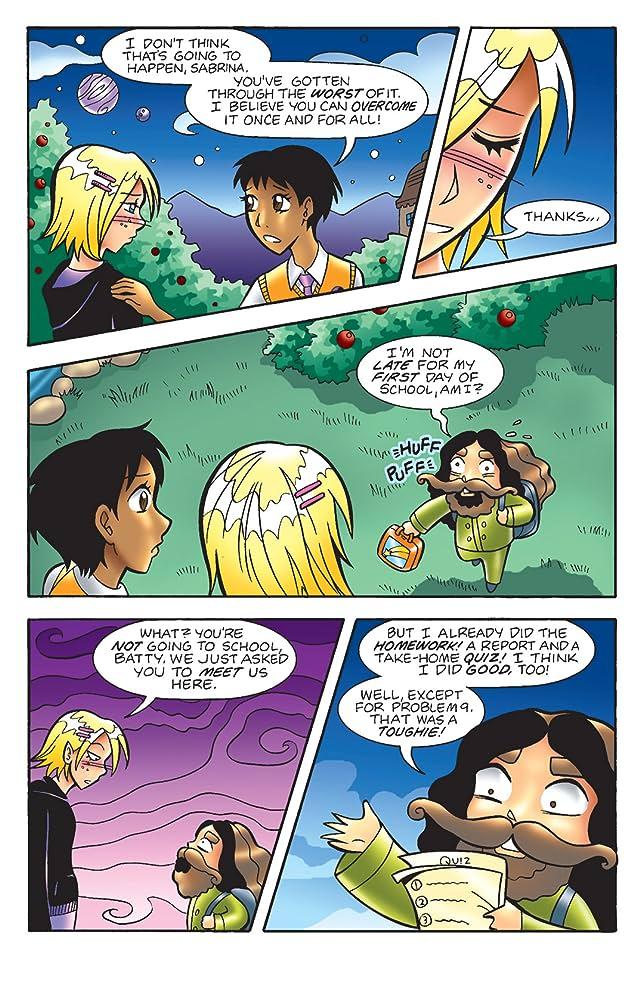 click for super-sized previews of Sabrina Manga #38