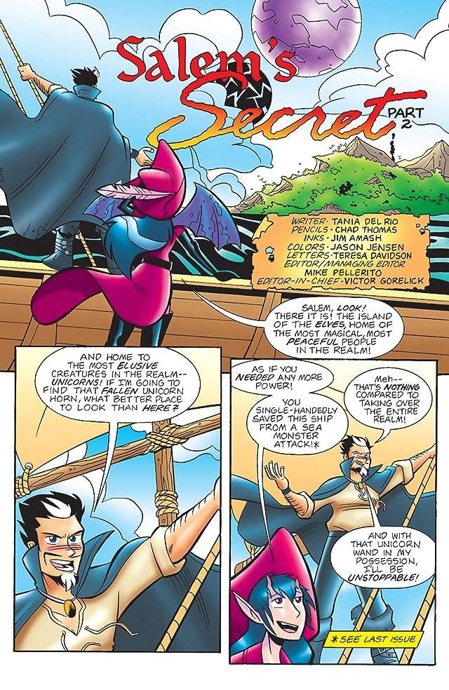 click for super-sized previews of Sabrina Manga #37