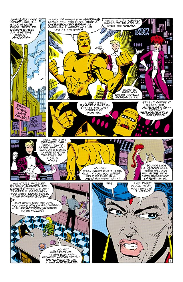 click for super-sized previews of Doom Patrol (1987-1995) #13