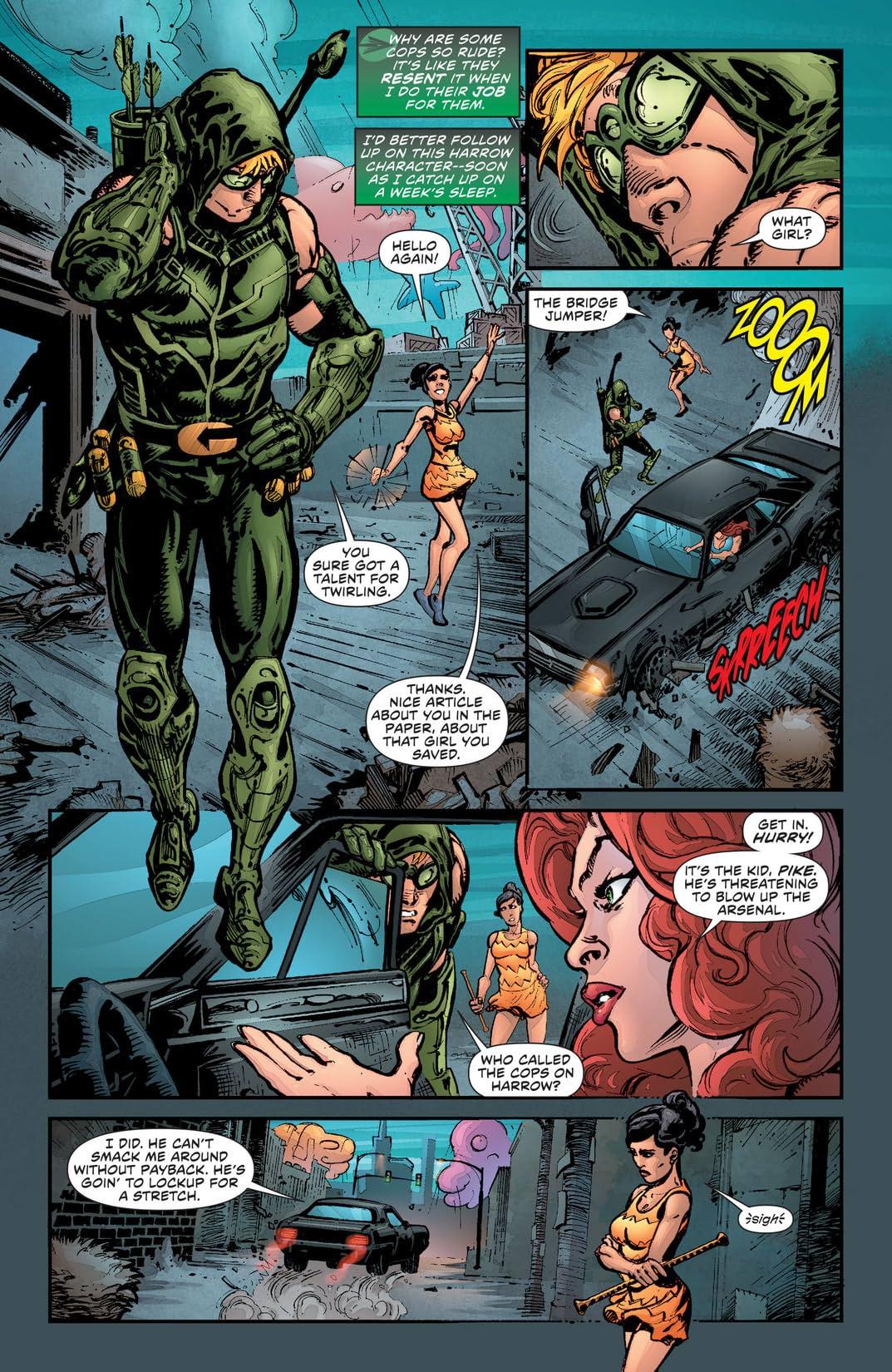 Green Arrow (2011-2016) #16