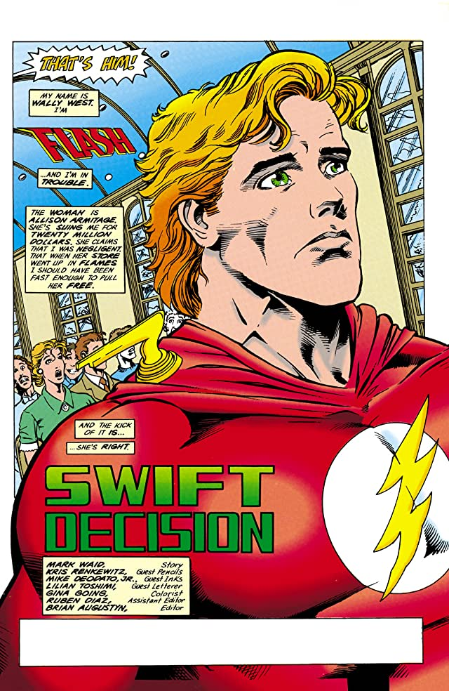 click for super-sized previews of The Flash (1987-2009) #89