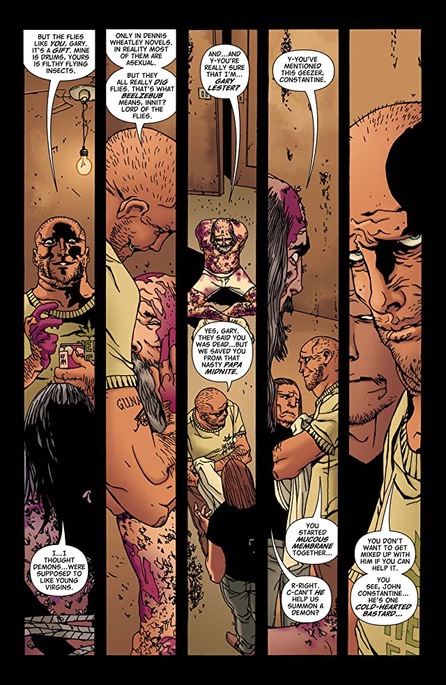 click for super-sized previews of Hellblazer #274
