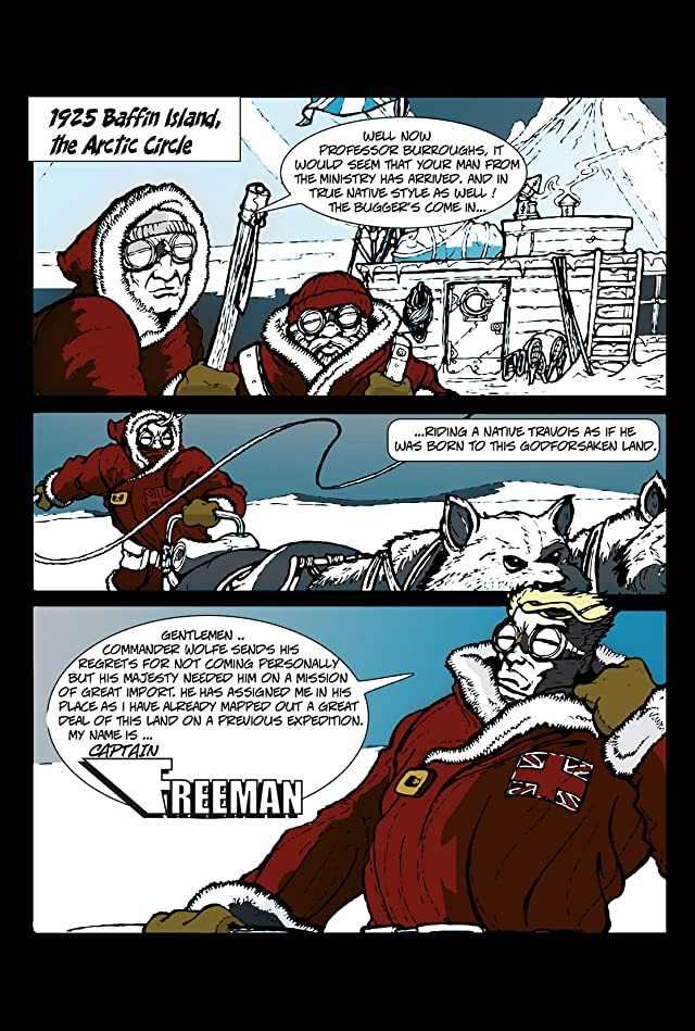 click for super-sized previews of Freeman of the Armed Services: Preview