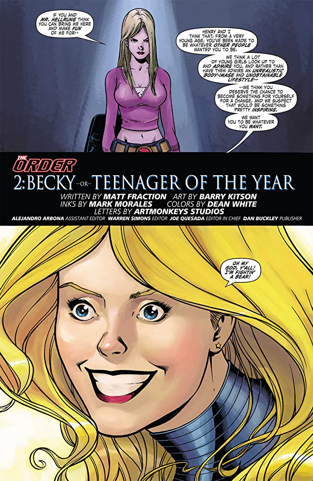 click for super-sized previews of The Order #2