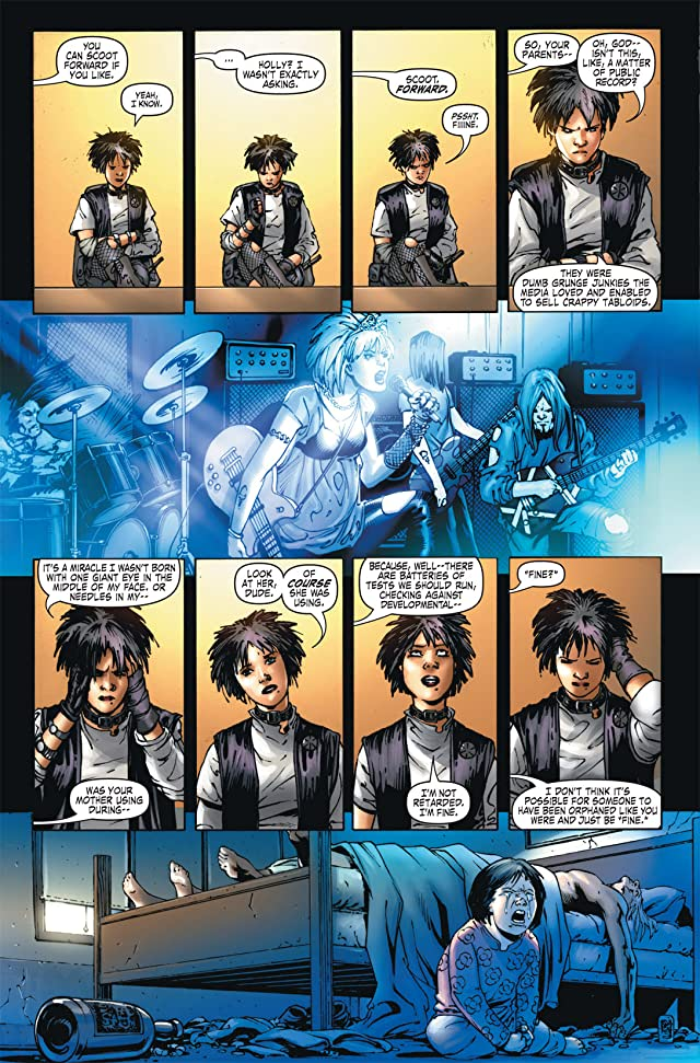 click for super-sized previews of The Order #8