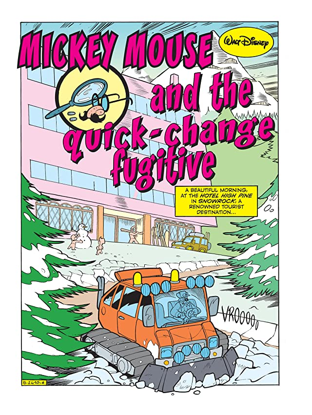 click for super-sized previews of Mickey Mouse and the Quick-Change Fugitive