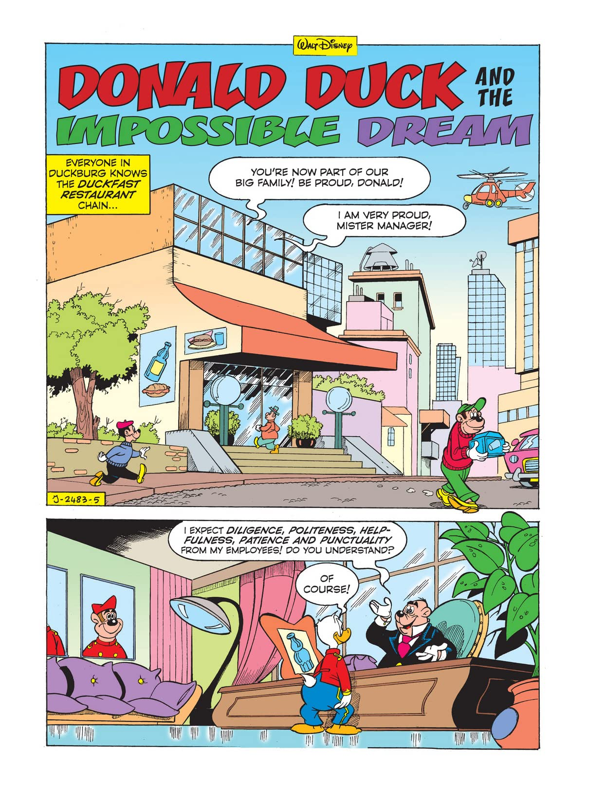Donald Duck and the Impossible Dream