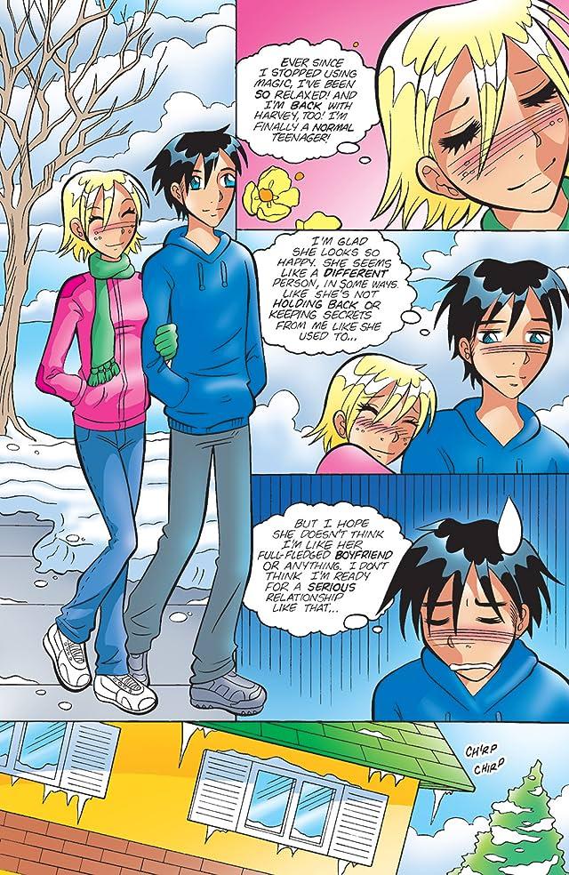 click for super-sized previews of Sabrina Manga #25
