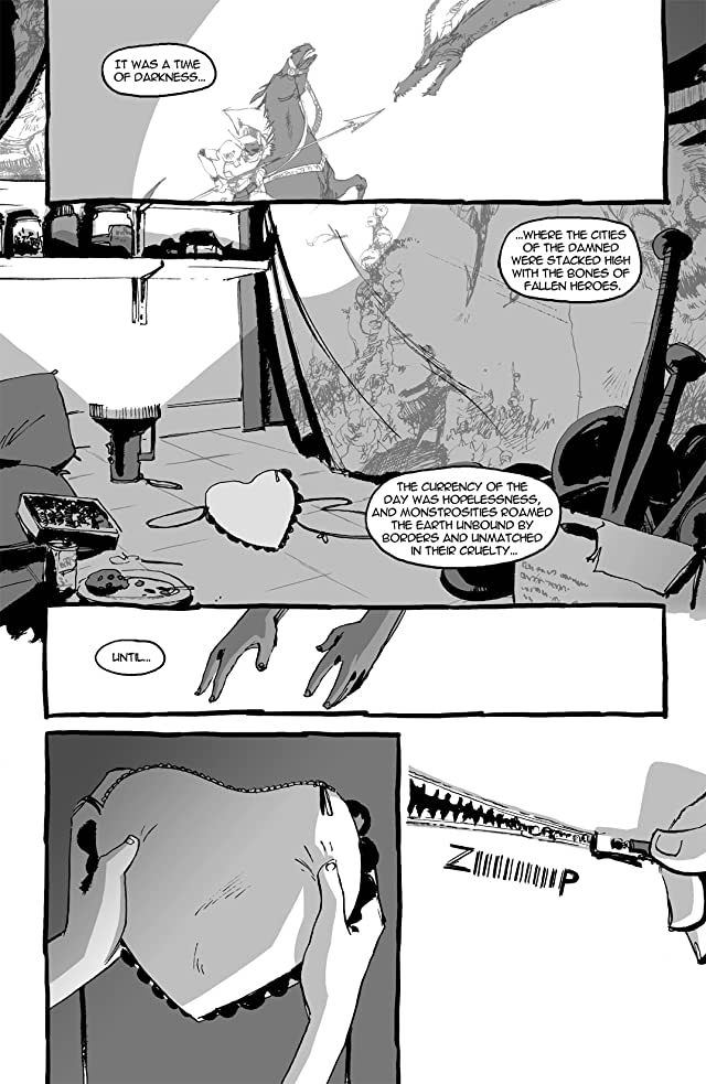 click for super-sized previews of I Kill Giants #1 (of 7)