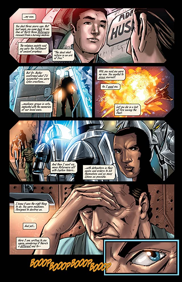 click for super-sized previews of Battlestar Galactica #11