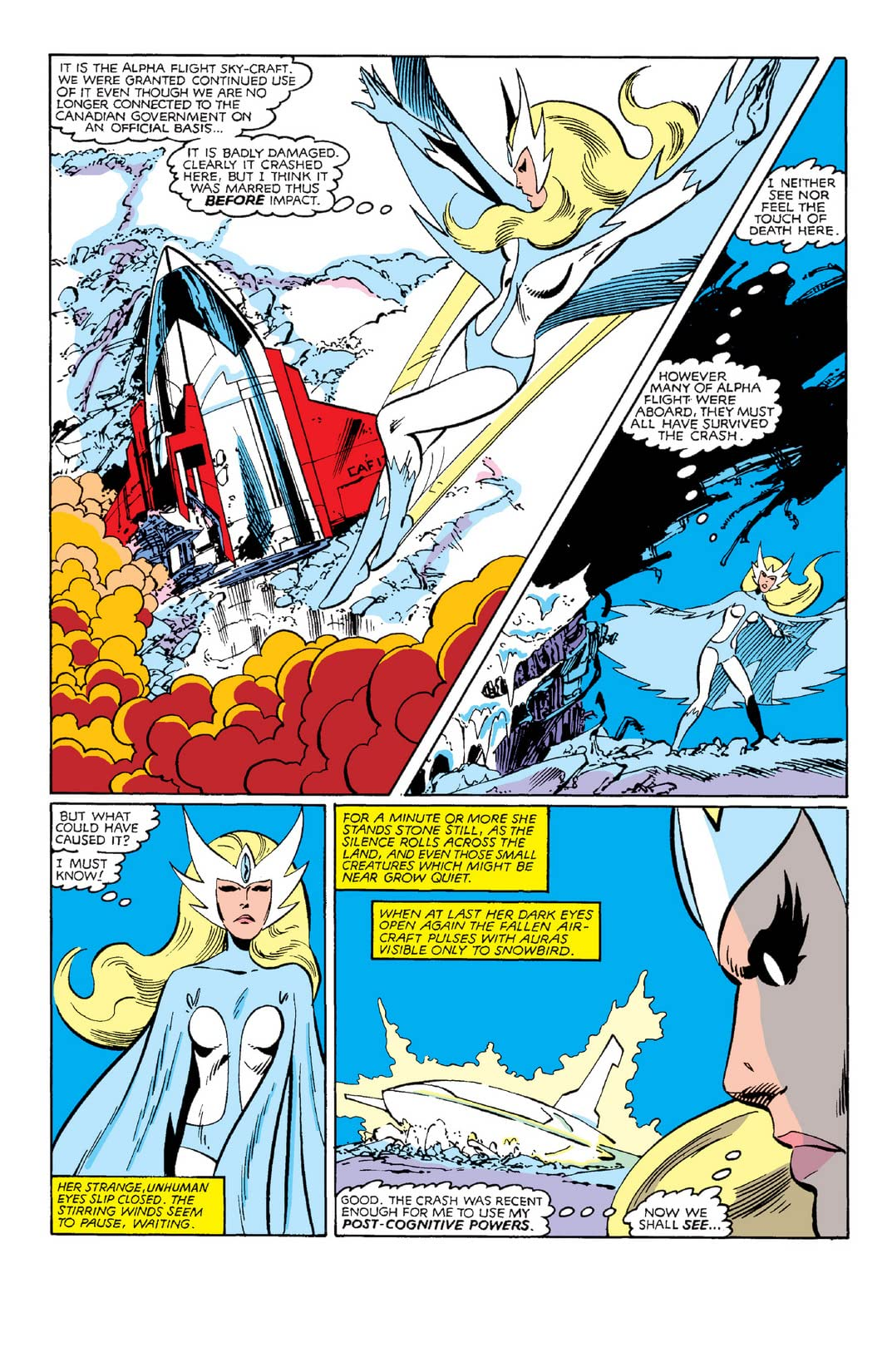 Alpha Flight (1983-1994) #3