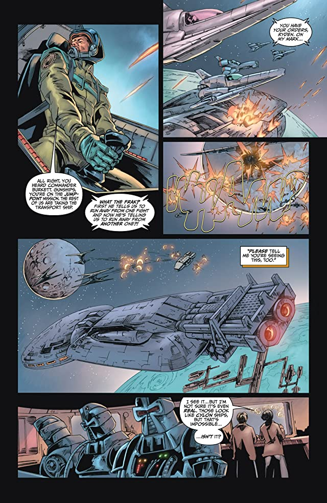 click for super-sized previews of Battlestar Galactica #2: Ghosts