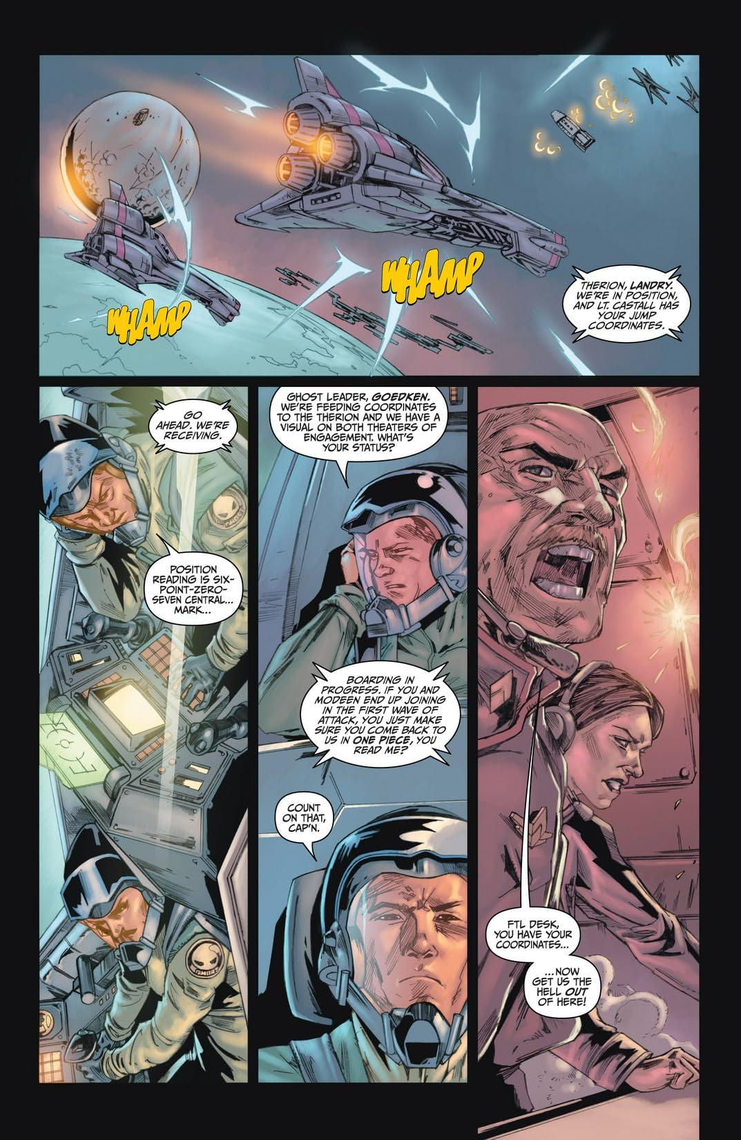 Battlestar Galactica #2 (of 4): Ghosts