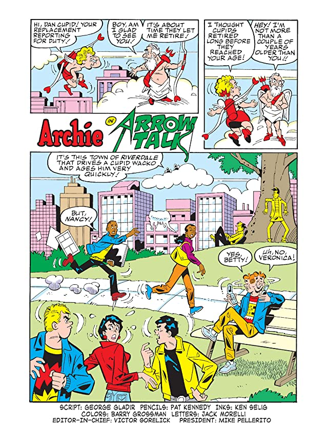 click for super-sized previews of World of Archie Double Digest #25