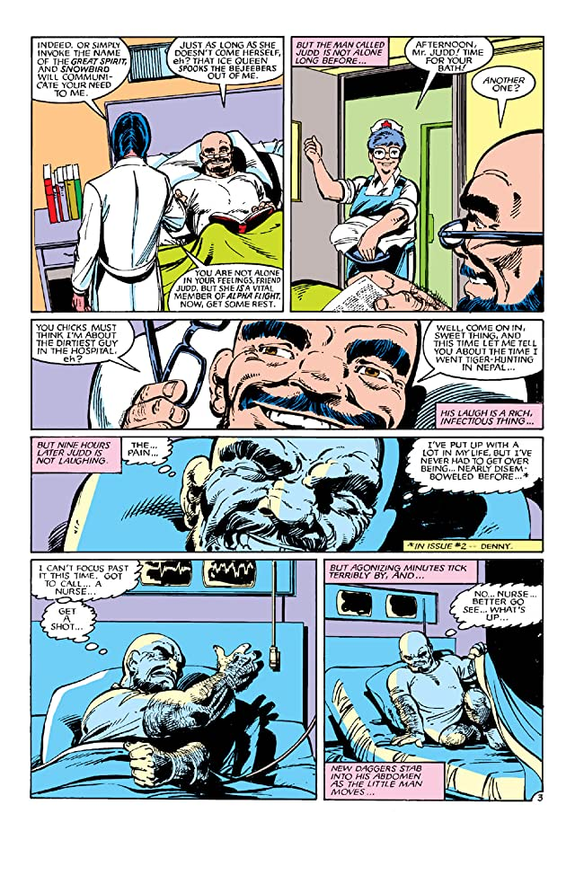 click for super-sized previews of Alpha Flight (1983-1994) #5