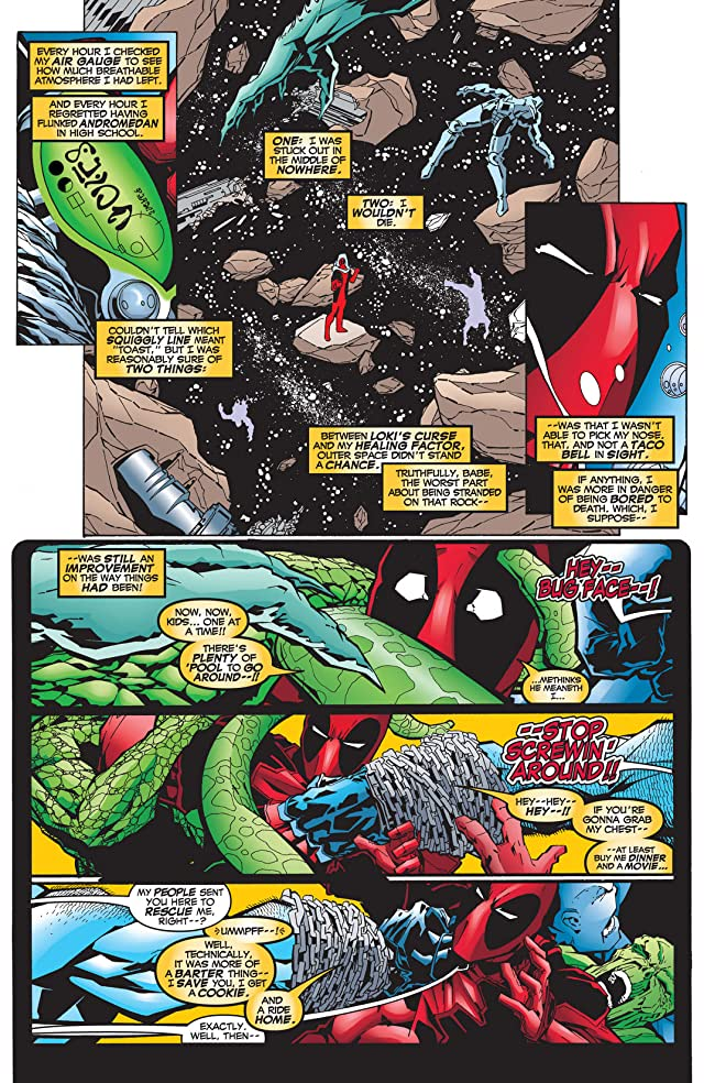 click for super-sized previews of Deadpool (1997-2002) #43