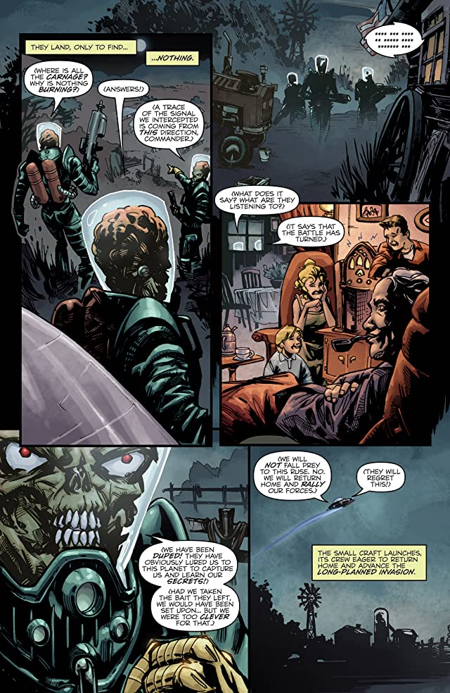 Mars Attacks the Real Ghostbusters #1