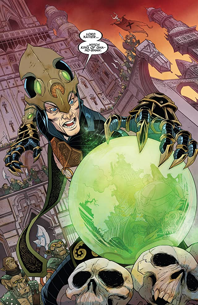 click for super-sized previews of X-Treme X-Men (2012-2013) #9