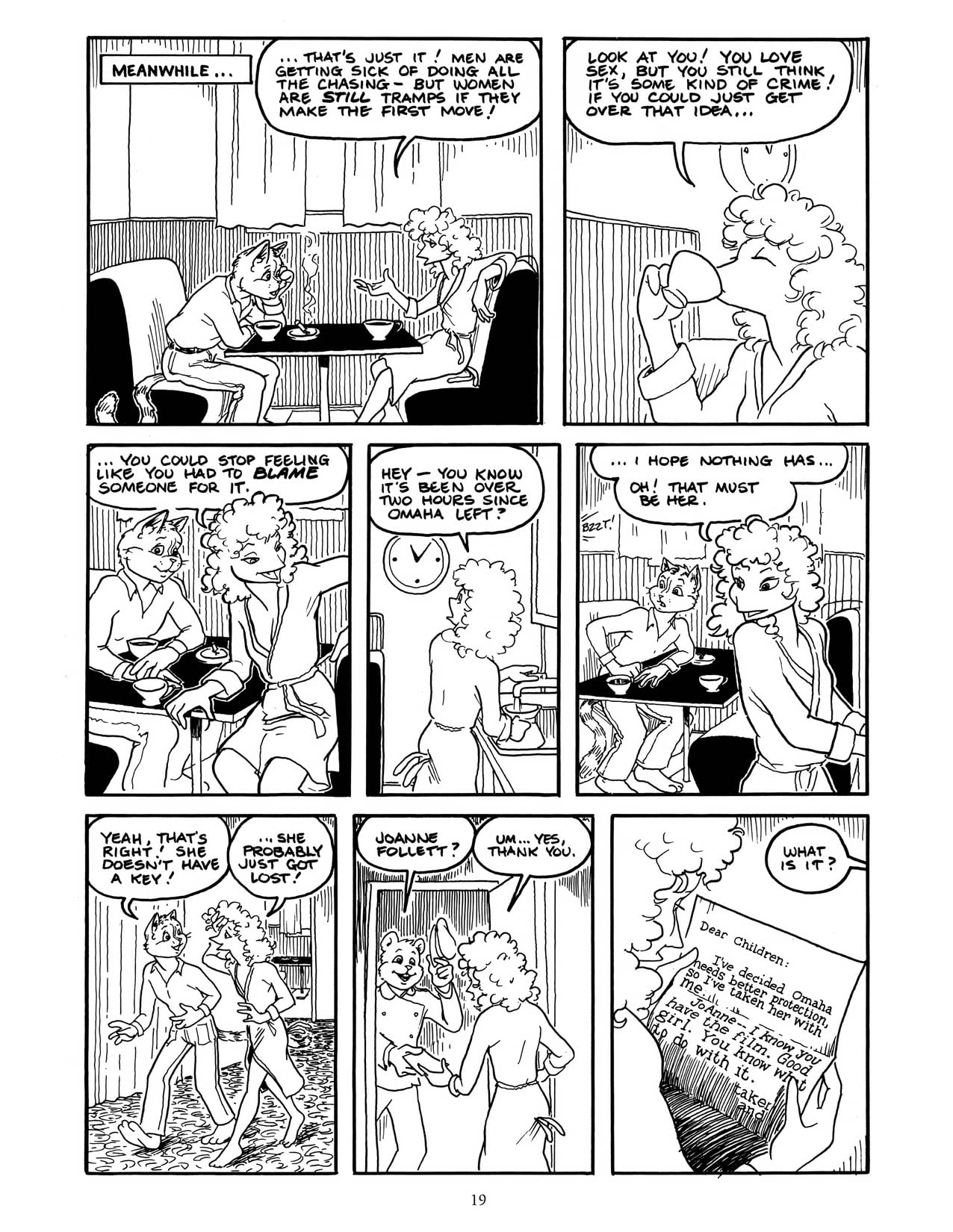 Omaha the Cat Dancer Vol. 2