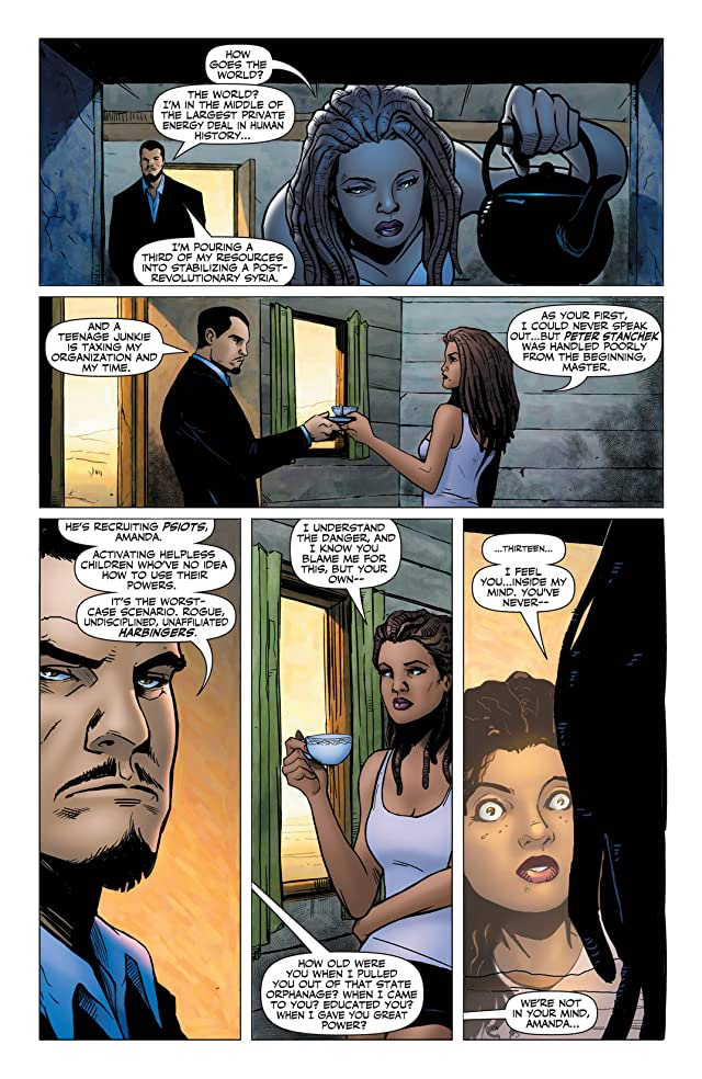 click for super-sized previews of Harbinger (2012- ) #8: Digital Exclusives Edition