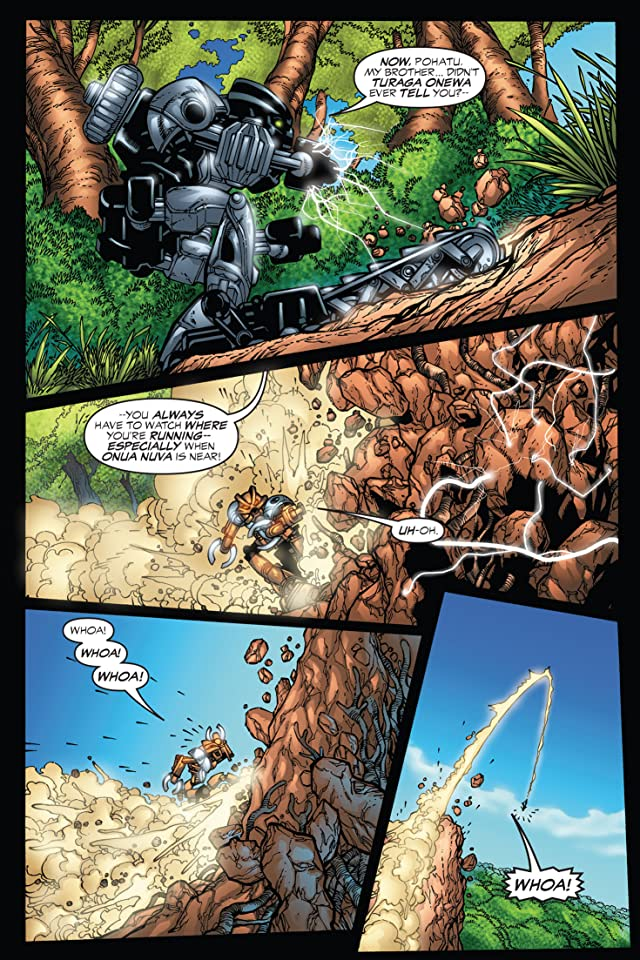 click for super-sized previews of Bionicle Vol. 2