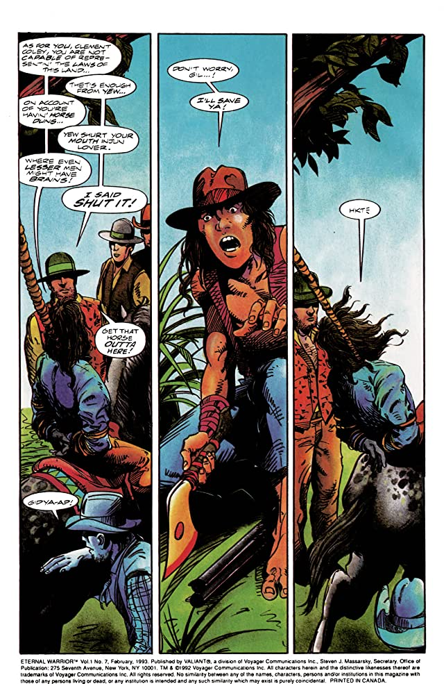 click for super-sized previews of Eternal Warrior (1992-1996) #7