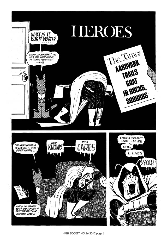 click for super-sized previews of Cerebus Vol. 2 #16: High Society