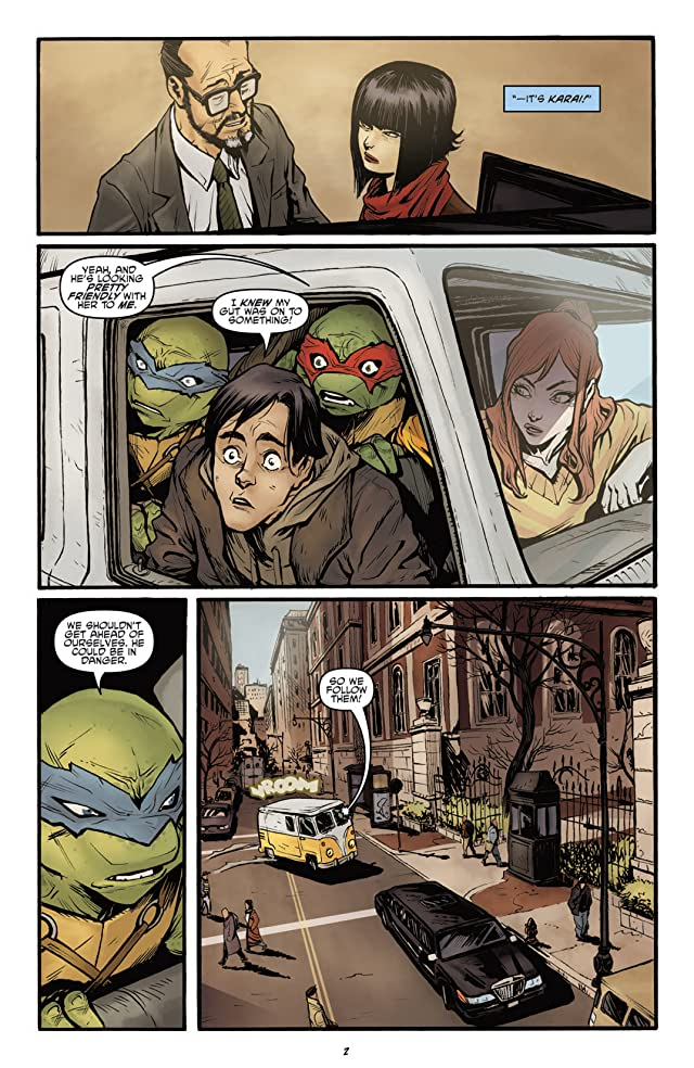 click for super-sized previews of Teenage Mutant Ninja Turtles: Secret History of the Foot Clan #2