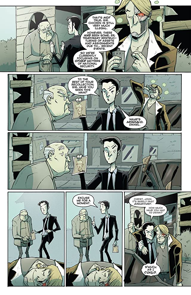 click for super-sized previews of Chew Vol. 4: Flambe